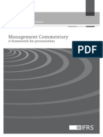 Management Commentary IFRS Practice Statement
