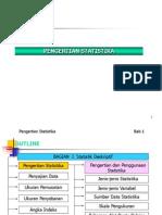 Presentasi Bab 01 statistika