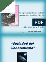 Psicopedagogia social en chile