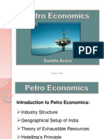 Introduction to Petro Economics