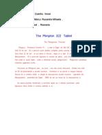The Plimpton 322 Tablet