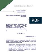 Philtranco Service Enterprises vs. Bureau of Labor Relations, G. R. No. 85343, June 28, 1989