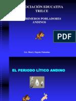 primeros pobladores andinos