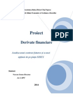 Proiect Derivate Financiare