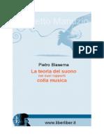 Pietro Blaserna - La Teoria Del Suono Nei Suoi Rapporti Con La Musica (Dumolard, 1875)