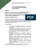 Proyecto Formar 2012 Doctora Adriana