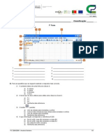 Teste Teorico Excel