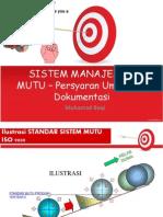 3. Persyaratan Umum Dan Dokumentasi