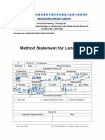EXW P006 0000 CS SHC MT 00096 Method Statement for Landscaping Rev.0