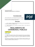Reglamento -Registro Oficial Ceremonial-ecuador