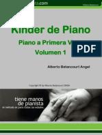 Kinder de Piano (Pianoaprimeravista I etapa)