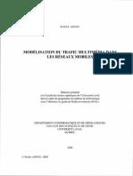 Modelisation Du Trafic Multimedia Dans Les Reseaux Mobiles