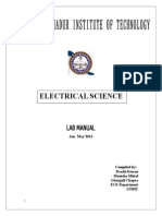 basic electrical lab
