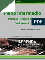 Piano Intermedio (Pianoaprimeravista II etapa)