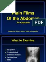 Approach to Plain Abdomen