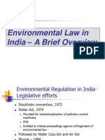 Environmental Law Brief Overview