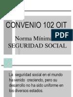 convenio 102- OIT