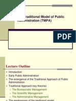 Model tradional manajemen publik.ppt