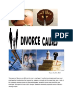 The Causes of Divorce Are Different for Every Marriage