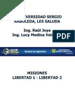 Pico Satelites Libertad 1 y 2
