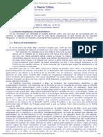 """""""Materialismo Histórico y Teoría Crítica - Materiales 22.Noviembre.2002"""""""