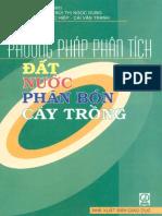 34528 - Phuong Phap Phan Tich Dat Nuoc Va Cay Trong - Le Van Khoa - VRS