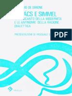 De Simone - Lukacs e Simmel 2