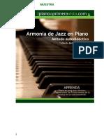 Armonía de Jazz en Piano
