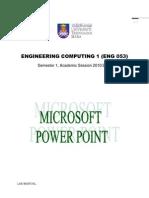 Microsoft Power Point Exercises(2)