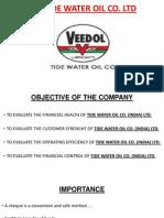 Tide Water Oil Co LtdPowerPoint Presentation