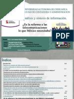Presentación Análisis y Síntesis de La Información