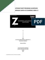 APLIKASI AKUNTANSI ZAHIR ACCOUNTING VERSI 5.1