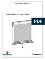 Instrucciones Montaje Mosquitera