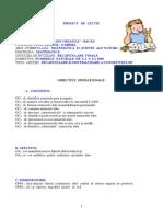 proiect didactic matematică