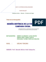 Monografia de Campana Cocha