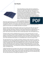 How To Develop Solar Panels