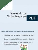 electronistagmografia