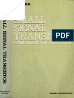 Toshiba Small Signal Transistor Semiconductor Data Book 1983 Toshiba Corporation 1983 [1021]