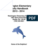 washington staff handbook