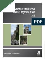 Apresentação do Orçamento Municipal de Sintra para 2015