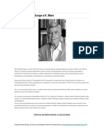 Crítica de Mario Bunge a K