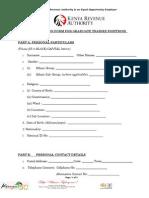 GRADUATE TRAINEE 2014 - APPLICATION FORM.doc