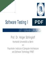 20061124 Schlingloff Testing Introduction