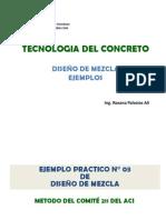 Diseño de Mezcla -ACI - Ejemplos