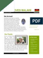 Jesus Loves Malawi E-Newsletter November 2014