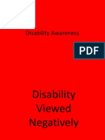 disability awareness--powerpoint