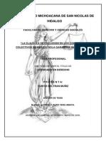Laclausuladeexclusionenloscontratoscolectivosenmexicoviolagarantiasindividuales Pag 25