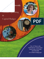 Annual Operating & Capital Budget