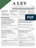 Artículo LA LEY - Responsabilidad de los buscadores de Internet Marcela Basterra.pdf