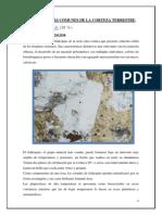 Minerales Más Comunes de La Corteza Terrestre
